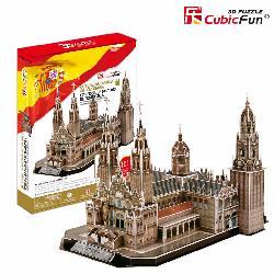 PUZZLE 3D CATEDRAL COMPOSTELA 101PCS