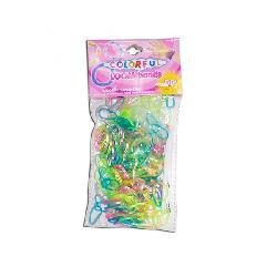 GOMITAS-300 GOMAS COLORES TRANSPARENTES