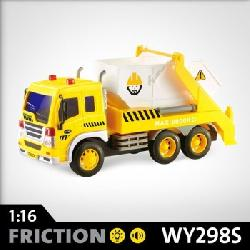 CAMION  CONTAINER  1:16  FRICC+SONIDO