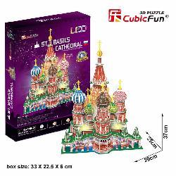 PUZZLE 3D CAT.SAN BASILIO 224PCS LEDS