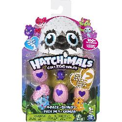 HATCHIMALS COLECCIONABLES 4 FIGURAS