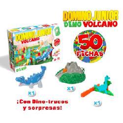 DOMINO  JUNIOR  DINO  VOLCAN