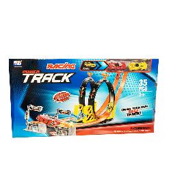 PISTA LOOPING CON 2 COCHES
