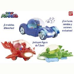 PJ  MASKS-VEHICULOS  DELUXE...