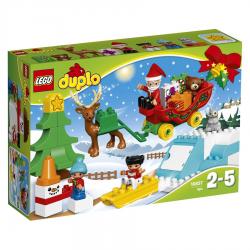 LEGO DUPLO-TRINEO DE PAPA NOEL