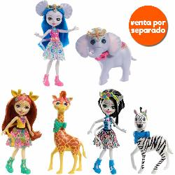 ENCHANTIMALS-MUÑECAS CON ANIMAL GDE SURT
