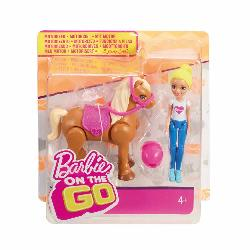 BARBIE PACK MUÑECA CON MINI PONY SURT.