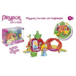 PIN Y PON CARROZA DE CENICIENTA