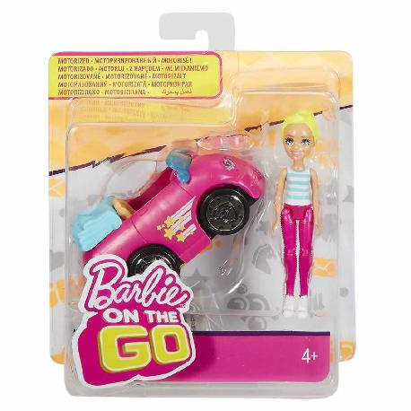 BARBIE PACK MUÑECA CON MINI VEHIC. SURT.