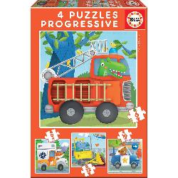PUZZ PROGRES PATRULLA RESCATE 6+9+12+16