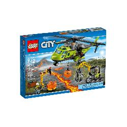 LEGO CITY-VOLCAN HELICOPTERO SUMINISTROS