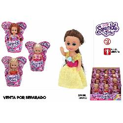 SPARKLE GIRLZ MUÑECA 10CM PRINCESS EXP12