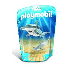 PLAYMOBIL TIBURON MARTILLO Y BEBE