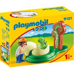 PLAYMOBIL 1.2.3 HUEVO DE DINOSAURIO
