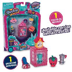 SHOPKINS S8-EUROPA TOUR PACK 5UD BLISTER