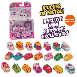SHOPKINS-CUTIE CARS SURT. EN BLISTER