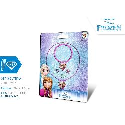 FROZEN-SET BISUTERIA 5PCS EN BLISTER