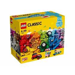 LEGO CLASSIC-LADRILLOS SOBRE RUEDAS