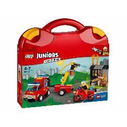 LEGO JUNIORS-MALETIN PATRULLA BOMBEROS