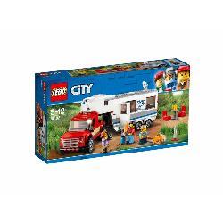 LEGO CITY-CAMIONETA Y CARAVANA