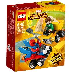 LEGO SUPERHEROES-SPIDERMAN VS SANDMAN
