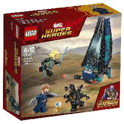LEGO SUPERHEROES-ATAQUE NAVE OUTSIDERS