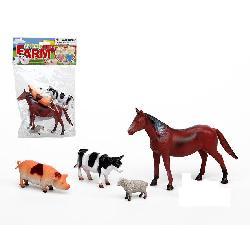 ANIMALES GRANJA 4PCS EN...