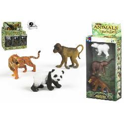 ANIMALES SALVAJES 5PCS EN CAJA 2 SURT