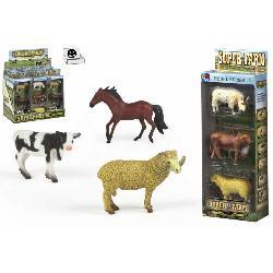 ANIMALES GRANJA 3PCS 2 SURT...