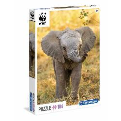 PUZZ 104 WWF LITTLE ELEPHANT