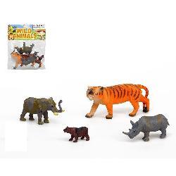 ANIMALES SELVA 4PCS PVC...