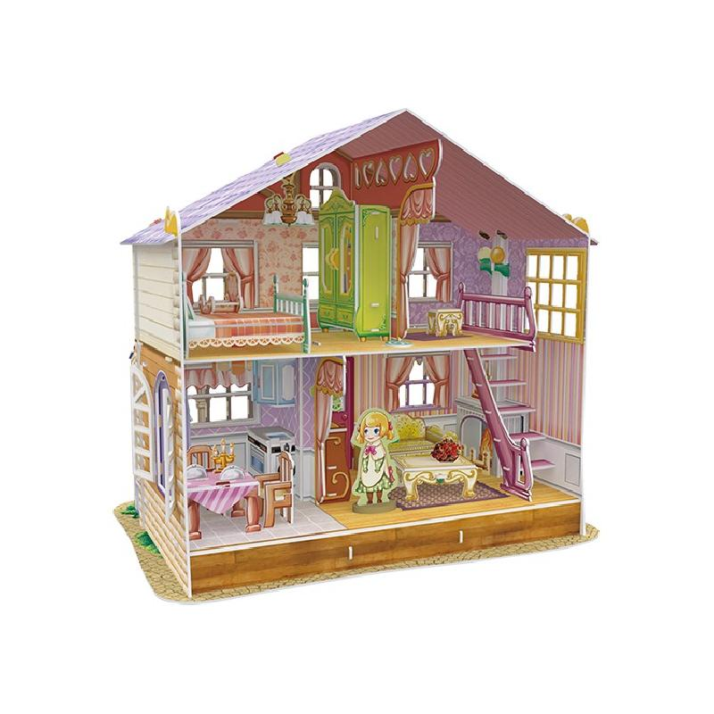 Puzzle 3d casa mu ecas 145pcs dreamhouse for Dream house 3d