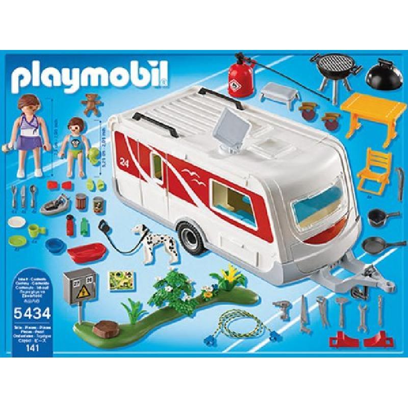 Caravana Playmobil Familiar Camping Familiar Playmobil Caravana Camping ybYfgI67v