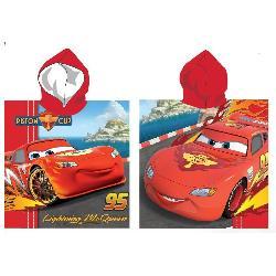 PONCHO PLAYA CARS 55X100CM