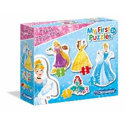 PUZZ PROGRES DISNEY PRINCESS 3+6+9+12