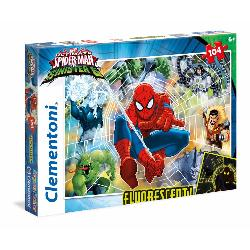 PUZZ 104 SPIDERMAN FLUORESCENTE