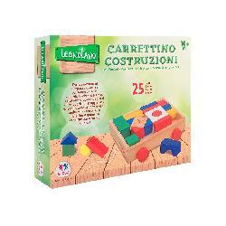 CARRO CON FORMAS DE MADERA 35PCS