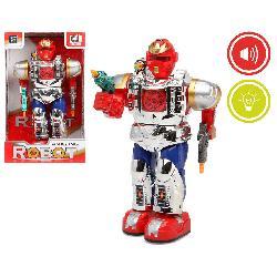 ROBOT 31X19CM CON LUZ Y SONIDO