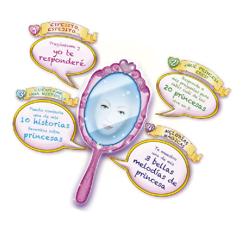 Espejo magico princesas electronico - Espejo magico juguete ...