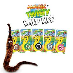 GUSANO MAGIC TWISTY COLORES SALVAJES