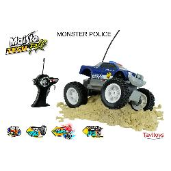 COCHE RC MAISTO TECH MONSTER POLICE