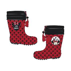 BOTAS LLUVIA T.22-32 MINNIE POLAR