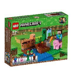 LEGO MINECRAFT-LA GRANJA DE MELONES