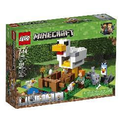 LEGO MINECRAFT-EL GALLINERO