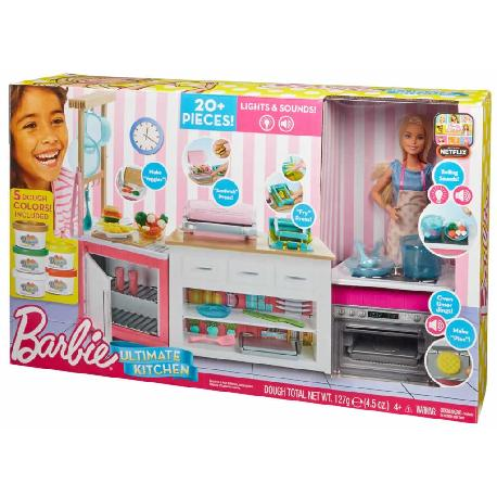 BARBIE LA COCINA DE BARBIE SUPERCHEF