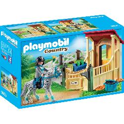 PLAYMOBIL CABALLO APPALOOSA CON ESTABLO