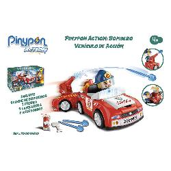 PIN Y PON ACTION BOMBERO VEHICULO ACCION