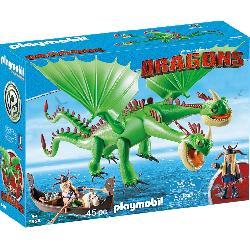 PLAYMOBIL DRAGON 2 CABEZAS