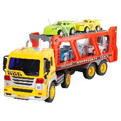 CAMION PORTACOCHES 1:16 FRICCION