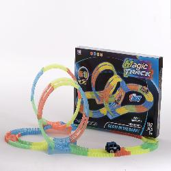 PISTA MAGIC GLOW 2 LOOPINGS + 2 COCHES